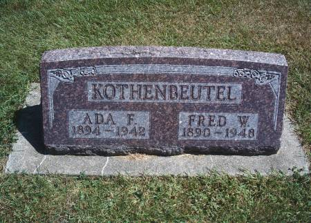 KOTHENBEUTEL, ADA F - Hancock County, Iowa | ADA F KOTHENBEUTEL