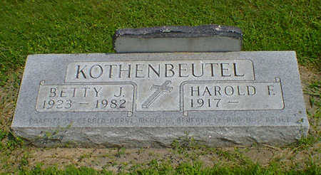 KOTHENBEUTEL, BETTY J - Hancock County, Iowa | BETTY J KOTHENBEUTEL