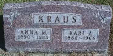 KRAUS, KARL A - Hancock County, Iowa | KARL A KRAUS