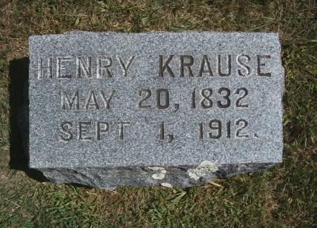 KRAUSE, HENRY - Hancock County, Iowa | HENRY KRAUSE