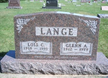 LANGE, LOIS C - Hancock County, Iowa | LOIS C LANGE