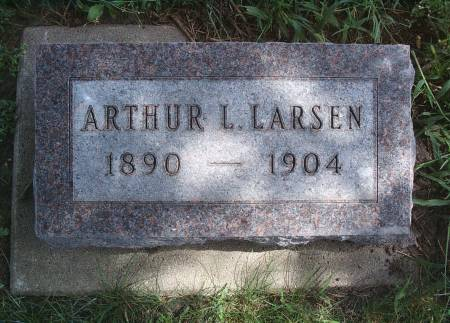 LARSEN, ARTHUR L - Hancock County, Iowa | ARTHUR L LARSEN