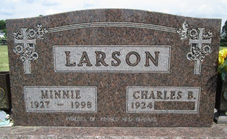 UBBEN LARSON, MINNIE - Hancock County, Iowa | MINNIE UBBEN LARSON
