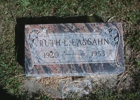 LASSAHN, RUTH L - Hancock County, Iowa | RUTH L LASSAHN