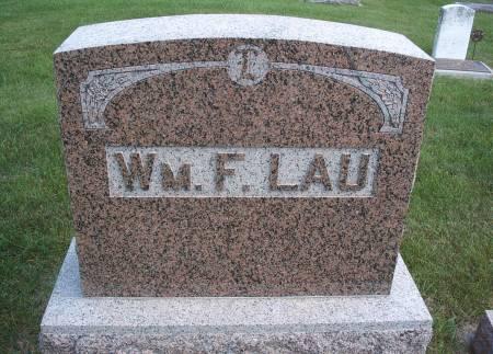 LAU, WILLIAM - Hancock County, Iowa   WILLIAM LAU