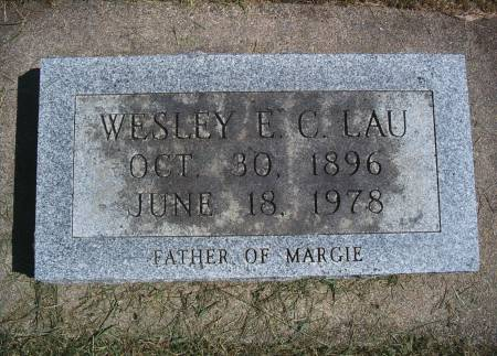 LAU, WESLEY E - Hancock County, Iowa | WESLEY E LAU