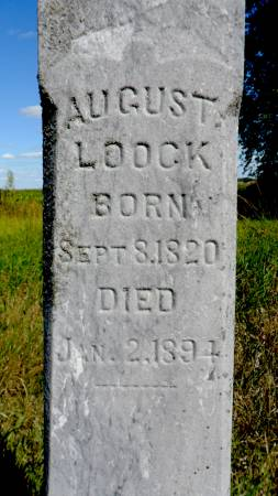 LOOCK, AUGUST - Hancock County, Iowa | AUGUST LOOCK