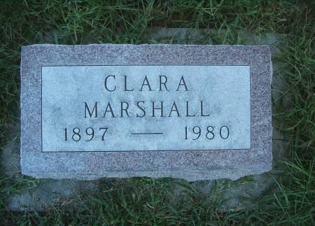 MARSHALL, CLARA - Hancock County, Iowa | CLARA MARSHALL