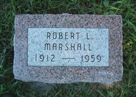 MARSHALL, ROBERT L - Hancock County, Iowa   ROBERT L MARSHALL