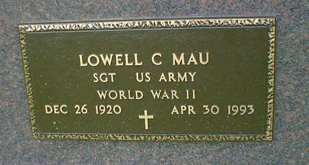 MAU, LOWELL C - Hancock County, Iowa | LOWELL C MAU