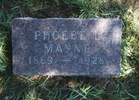 DODGE MAYNE, PHOEBE L - Hancock County, Iowa | PHOEBE L DODGE MAYNE