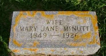 MCNUTT, MARY J - Hancock County, Iowa | MARY J MCNUTT
