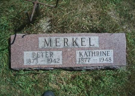 MERKEL, PETER - Hancock County, Iowa | PETER MERKEL