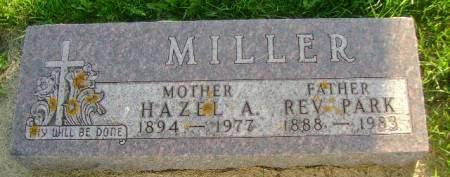 MILLER, HAZEL A - Hancock County, Iowa | HAZEL A MILLER