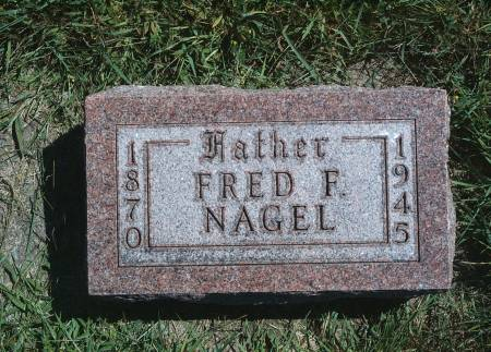 NAGEL, FRED F - Hancock County, Iowa | FRED F NAGEL