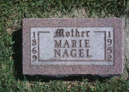 NAGEL, MARIE - Hancock County, Iowa   MARIE NAGEL