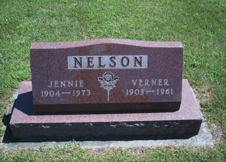 NELSON, JENNIE - Hancock County, Iowa | JENNIE NELSON