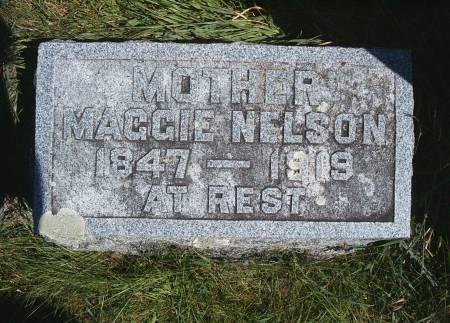 HANSON NELSON, MAGGIE - Hancock County, Iowa   MAGGIE HANSON NELSON