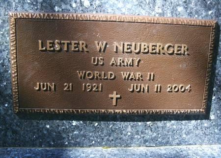 NEUBERGER, LESTER W - Hancock County, Iowa | LESTER W NEUBERGER
