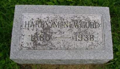 NEWGORD, HARRY M - Hancock County, Iowa   HARRY M NEWGORD