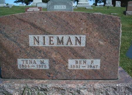 NIEMAN, TENA M - Hancock County, Iowa | TENA M NIEMAN