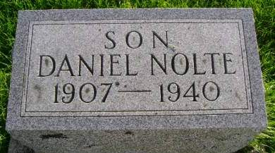 NOLTE, DANIEL - Hancock County, Iowa | DANIEL NOLTE
