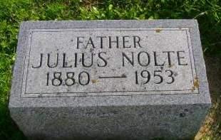NOLTE, JULIUS - Hancock County, Iowa | JULIUS NOLTE
