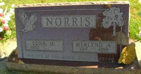 NORRIS, MERLYND A - Hancock County, Iowa | MERLYND A NORRIS
