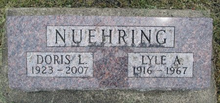 NUEHRING, LYLE A - Hancock County, Iowa | LYLE A NUEHRING