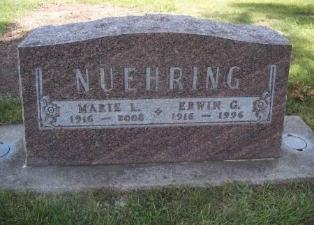NUEHRING, ERWIN G - Hancock County, Iowa | ERWIN G NUEHRING