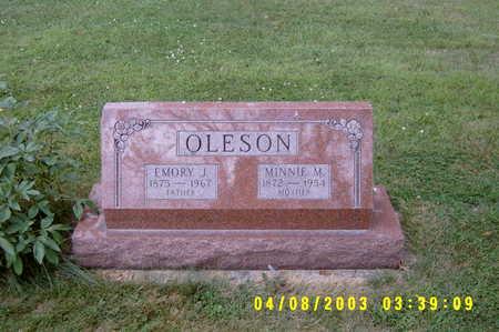 OLESON, MINNIE M - Hancock County, Iowa | MINNIE M OLESON