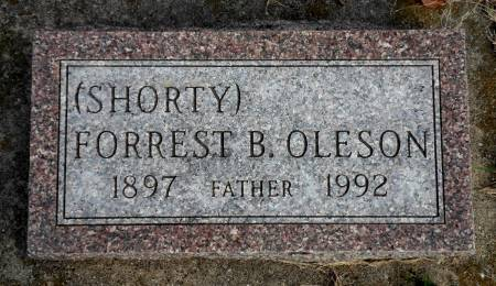OLESON, FORREST  B (SHORTY) - Hancock County, Iowa | FORREST  B (SHORTY) OLESON