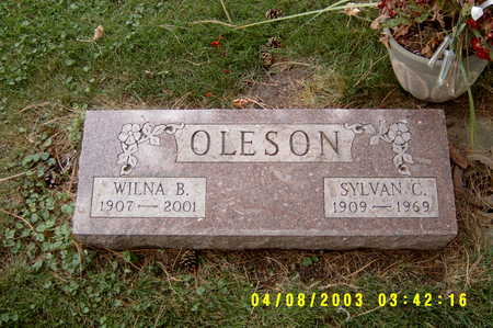SMITH OLESON, WILNA BELLE - Hancock County, Iowa | WILNA BELLE SMITH OLESON