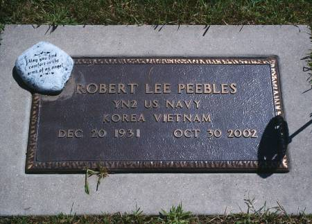 PEEBLES, ROBERT L - Hancock County, Iowa | ROBERT L PEEBLES