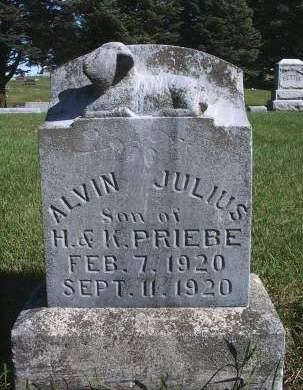 PRIEBE, ALVIN J - Hancock County, Iowa | ALVIN J PRIEBE