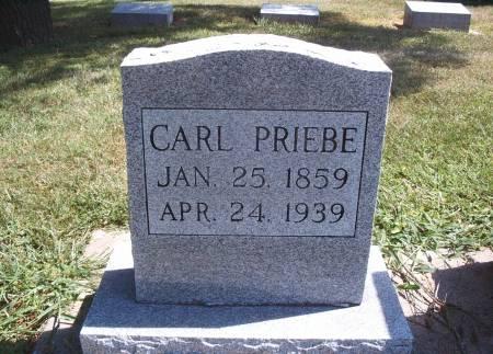 PRIEBE, CARL - Hancock County, Iowa | CARL PRIEBE