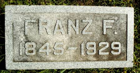 PRINGNITZ, FRANZ F - Hancock County, Iowa | FRANZ F PRINGNITZ