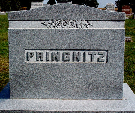 PRINGNITZ, FAMILY MONUMENT - Hancock County, Iowa | FAMILY MONUMENT PRINGNITZ