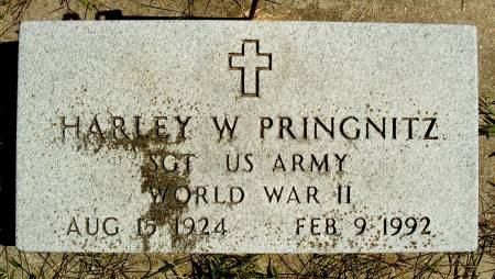 PRINGNITZ, HARLEY W - Hancock County, Iowa | HARLEY W PRINGNITZ