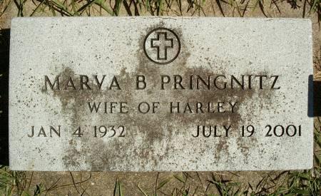 PRINGNITZ, MARVA B - Hancock County, Iowa | MARVA B PRINGNITZ