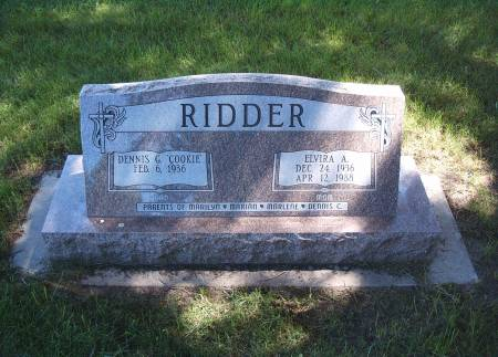 RIDDER, ELVIRA A - Hancock County, Iowa | ELVIRA A RIDDER