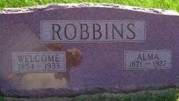 ROBBINS, ALMA - Hancock County, Iowa | ALMA ROBBINS
