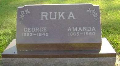 RUKA, GEORGE - Hancock County, Iowa | GEORGE RUKA