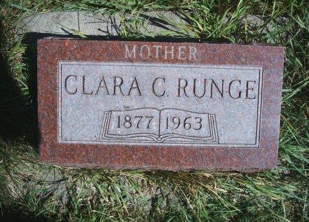 RUNGE, CLARA C - Hancock County, Iowa | CLARA C RUNGE