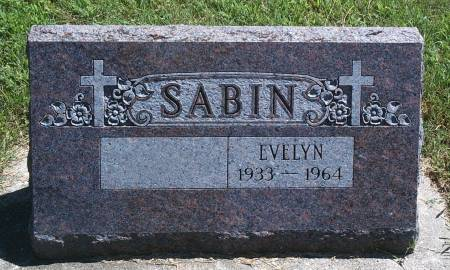 LYONS SABIN, EVELYN - Hancock County, Iowa | EVELYN LYONS SABIN