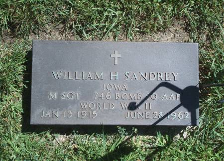 SANDREY, WILLIAM H - Hancock County, Iowa | WILLIAM H SANDREY