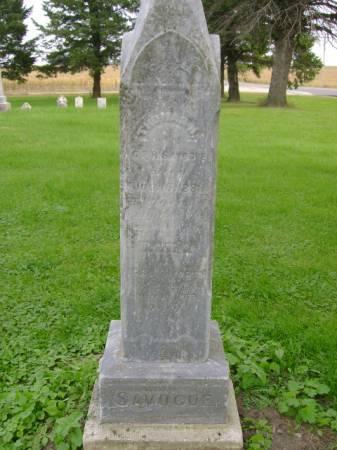 SAVOGUE, THOMAS J - Hancock County, Iowa | THOMAS J SAVOGUE