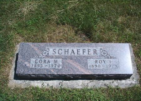 SCHAEFER, ROY I - Hancock County, Iowa | ROY I SCHAEFER