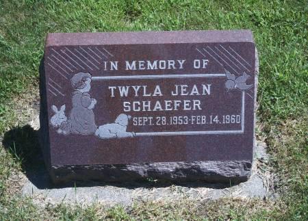SCHAEFER, TWYLA J - Hancock County, Iowa | TWYLA J SCHAEFER