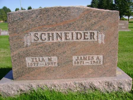 SCHNEIDER, JAMES A - Hancock County, Iowa | JAMES A SCHNEIDER